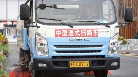 上海报业集团太极拳队等赴广富林展演