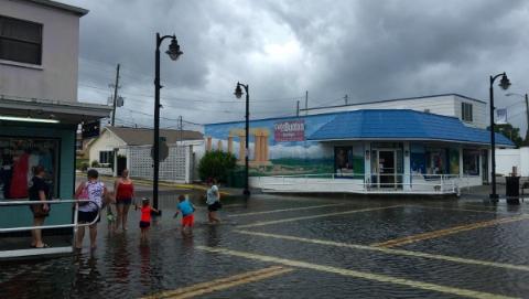 """4级飓风""""迈克尔""""肆虐佛罗里达"""