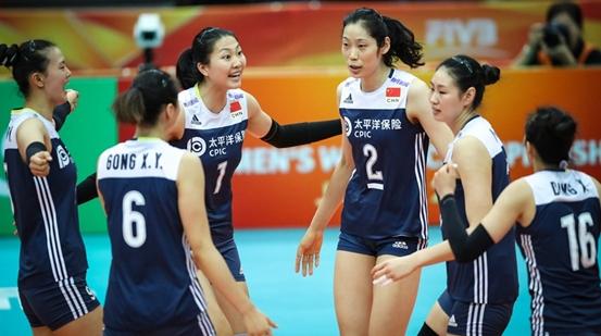 中国女排3比1胜俄罗斯 复赛四连胜晋级6强赛