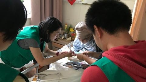 让生命的最后一程有尊严地走——静安寺街道社区卫生服务中心举行重阳节敬老特别活动