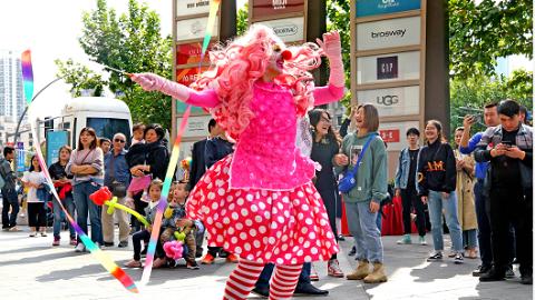 打响上海文化品牌 | 街艺,一张流动的城市文化名片