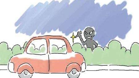 """什么仇什么怨?""""熊大妈""""一连划花十八辆车,竟是因为""""手痒难耐"""""""