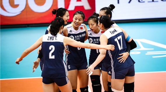 中国女排世锦赛6强收官战3比1逆转荷兰 半决赛再战意大利