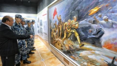 上海首个解放战争纪念馆上午开馆迎客