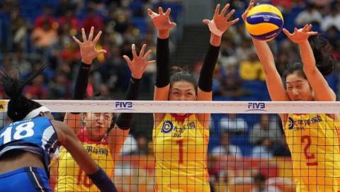 半决赛不敌意大利队 中国女排将与荷兰队争夺季军