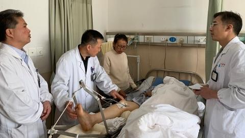 """沪藏合作""""零""""距离 千里转诊救治严重骨盆损伤患者"""