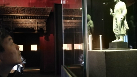 """""""佛陀之光——故宫博物院与止观美术馆佛教造像展""""开幕"""