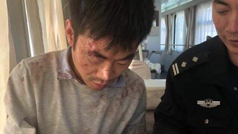 京沪列车上来了个浑身血迹的旅客    在逃嫌犯入法网