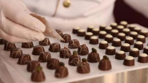 """天下美食   """"欧洲巧克力节""""亮相意大利佩鲁贾"""