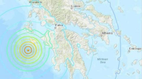 突发!今天凌晨希腊6.8级地震,暂无人员伤亡
