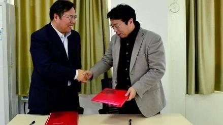 上海群益职业技术学校与新疆企业共建实训基地