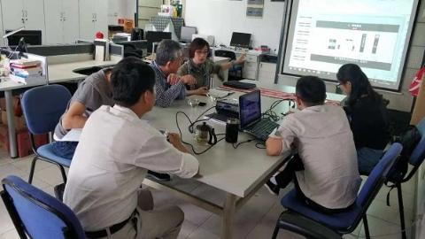 东华师生团队为国展中心打造新标识