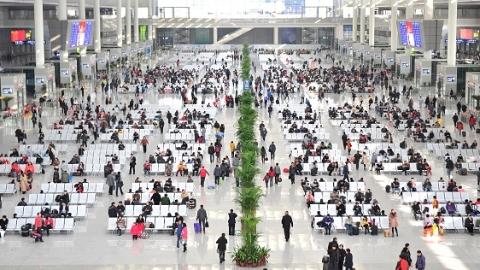 进宝天天报·探营记|虹桥火车站增设多项智能设备