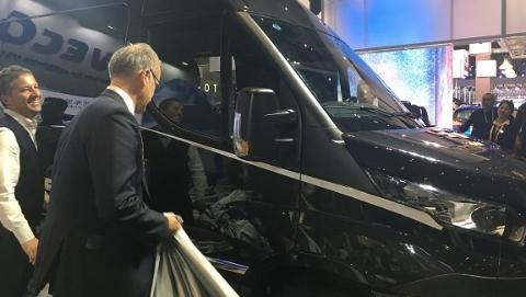 依维柯首批200辆进口New Daily商务车签约仪式举行