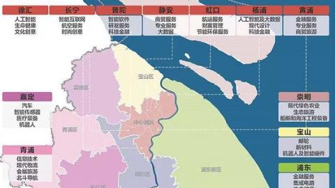 《上海市产业地图》对外发布  重大产业项目在沪加快发展