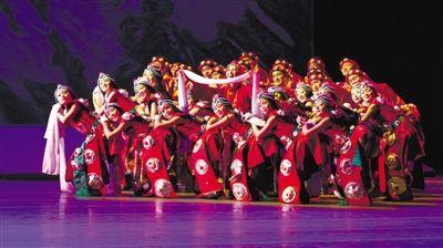 在西藏歌舞团,唱响心中的歌