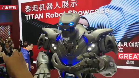 进博60″(38)|捂脸! 当进博会的机器人尬舞起来……