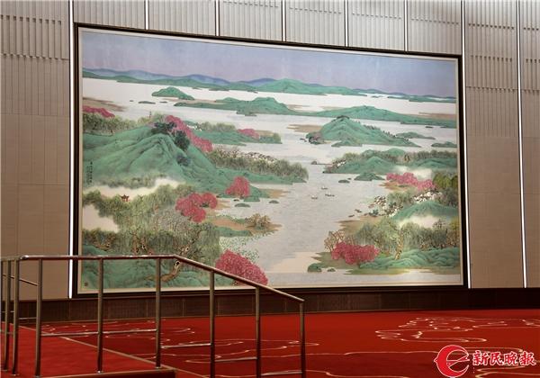 《春风又绿江南岸》巨幅国画-刘歆.jpg