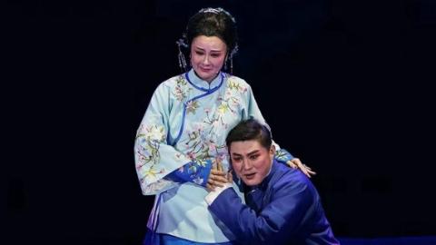 足蹬软跷 口有唱功 锡剧《卿卿如晤》女主角展现林觉民妻家国情怀