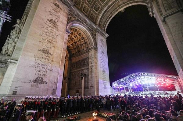 一战结束一百周年 法国悼念参战的亚洲人,比利时办华工史料展