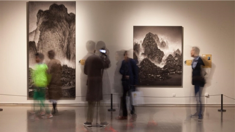 水墨概念艺术大展,注解这个时代的水墨精神