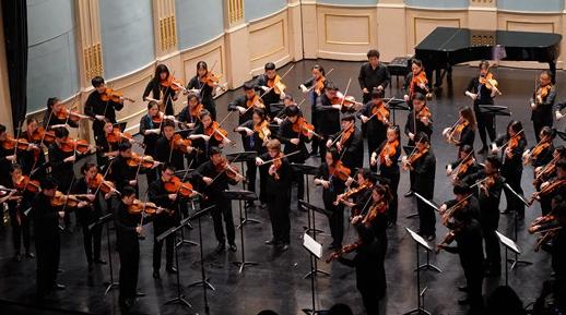 """小众乐器也能拉出""""狂想曲"""" 上音中提琴艺术节拉开帷幕"""