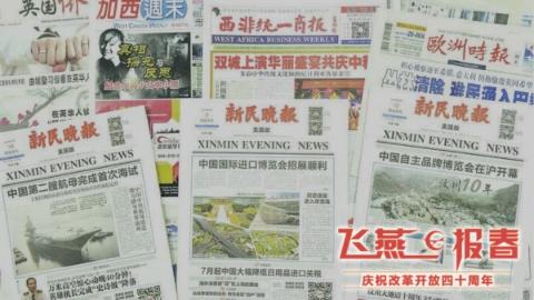 飞燕报春   跨越万里大洋 传播中国声音