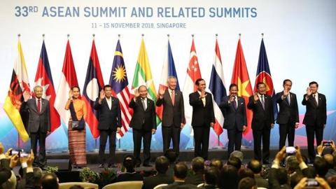"""第33届东盟峰会开幕 以""""韧性与创新""""为主题推进一体化"""