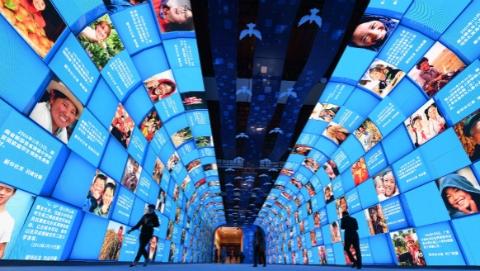 """""""庆祝改革开放40周年大型展览""""先睹记:穿越""""时空隧道"""" 见证伟大变革"""