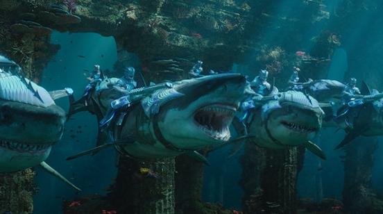 震撼视效海底奇观,跟着《海王》一起进入颠覆想象的海底世界