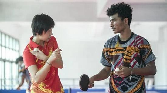 张怡宁收了个巴新徒弟 中国乒乓球学院巴新训练中心背后的故事