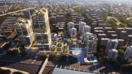 真如城市副中心新一轮规划出炉:将建成服务长三角的公共活动中心