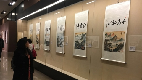 以国粹精华献礼改革开放!上海交大三位教授在中国国家博物馆开展