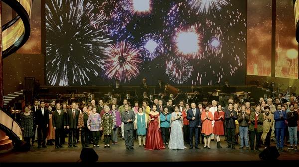 上海电影人用这场音乐晚会,带观众重温改革开放40年来他们的梦