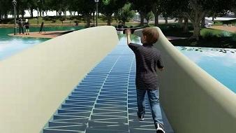 上海时刻·见所未见|3D打印一座桥,你敢在上面走吗?
