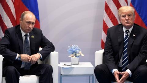 """特朗普称取消原定与普京的会晤 同天""""通俄门""""调查波澜再起"""