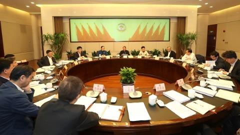 市政协召开十三届十五次党组(扩大)会议  董云虎讲话