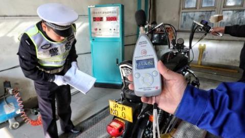 上海机动车超分贝今起严查 非法改装车是整治重点