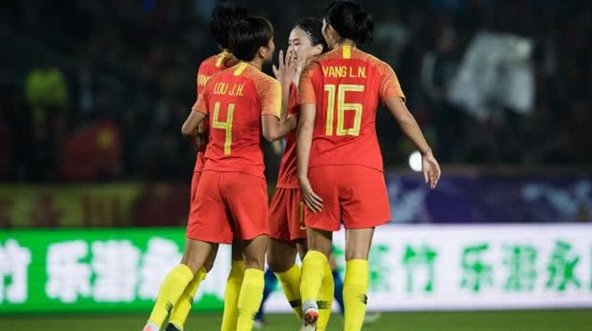 两场比赛净胜对手16个球,没有王霜的中国女足依然犀利