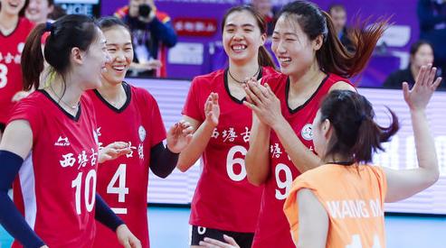 刘晏含独得34分 浙江女排迎来世俱杯首胜