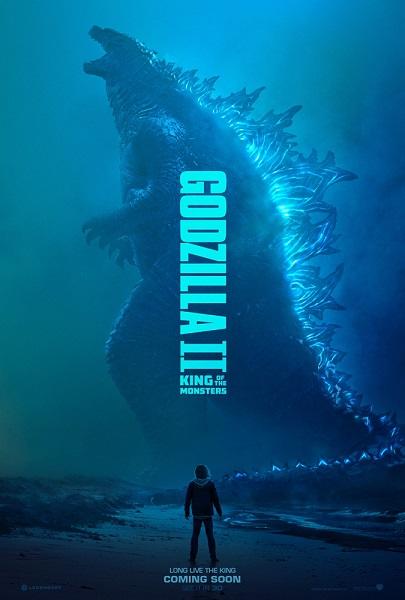 《哥斯拉2:怪兽之王》四大怪兽罕见同框  钱德勒、法梅加、渡边谦、章子怡一同面对世界浩劫
