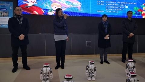 玩中学  赛中练  徐汇区把AI种子种进孩子心里