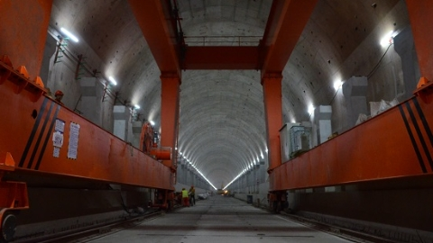 【新时代新气象新作为】诸光路通道明年4月整体结构贯通 系国内首个全预制拼装隧道工程