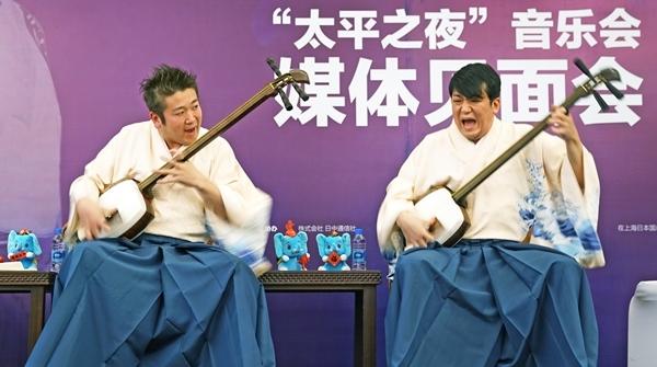 """12月底,一起去现场听""""吉田兄弟""""演奏《火影忍者》的插曲吧!"""