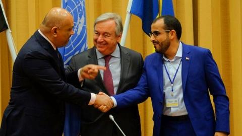也门与胡塞武装同意在荷台达停火撤军
