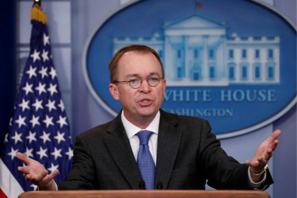 """特朗普宣布白宫""""钱袋子""""为""""管家""""马尔瓦尼原为预算办公室主任"""