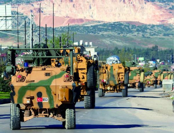 """不怕美国""""老大""""?土耳其举兵剑指叙北"""