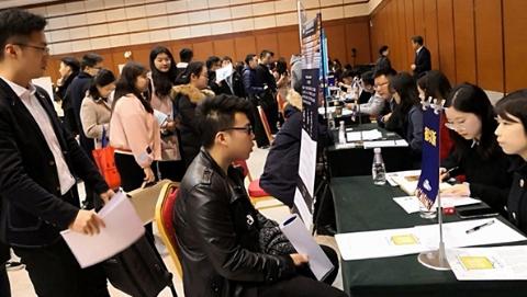 沪杭宁庐四城海归超30万人 企业对高层次人才需求加大