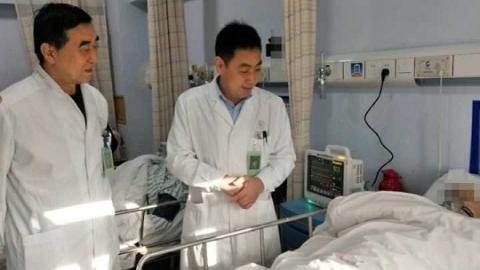 """86岁的患者颅内动脉瘤破裂 长征医院""""鬼门关""""前抢回生命"""