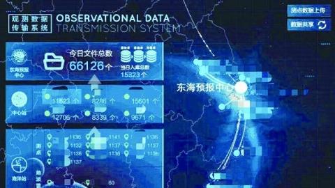 """上海海洋大学""""数字海洋""""团队研发智能服务平台 驾驭大数据 准实时预警海洋灾害"""